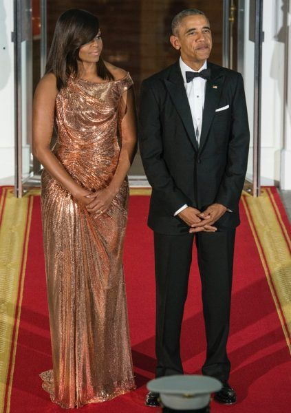 1984ed8c81b Michelle Obama s Best Looks Ever (Including That Versace Dress ...