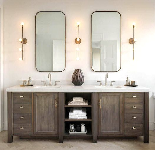 Wood Bathroom Vanities