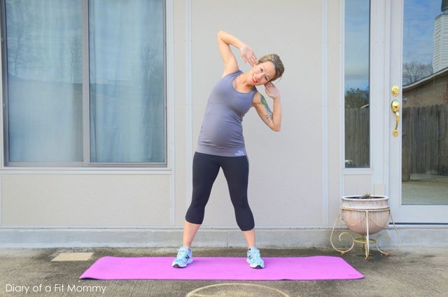 8 Moves To Work Your Love Handles During Pregnancy Diary