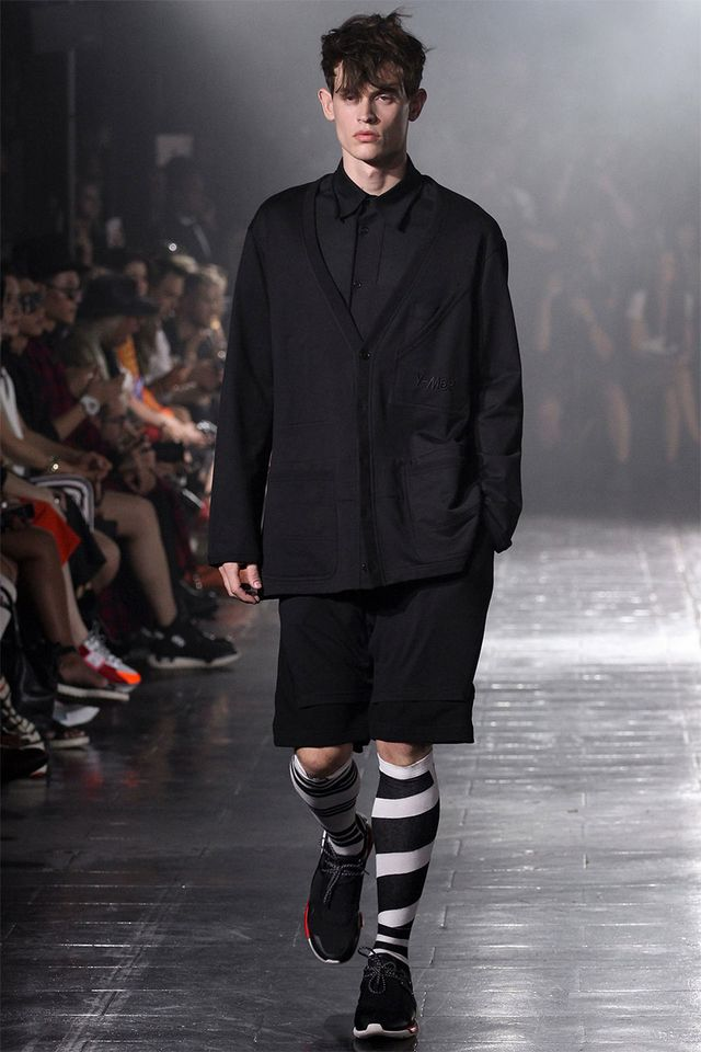 8bc7d06e5af6 Yohji Yamamoto unveiled his Spring Summer 2014 collection for Y-3 during  New York Fashion Week. This season