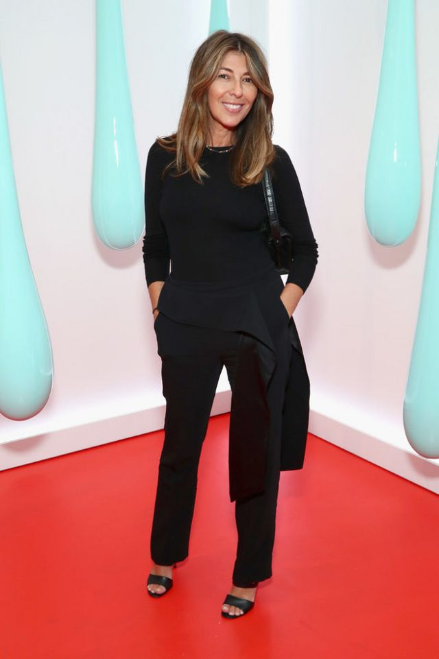 c02d4a98f6d0 Nina Garcia was understated, but gorgeous in all-black. Her style is  impeccable.