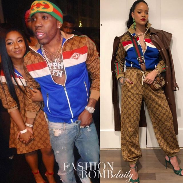 Who Wore It Better? Rihanna or YFN Lucci in Gucci's $1,800
