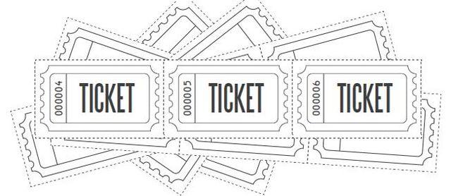 Customized Raffle Ticket Blanks Free Printables Online Bloglovin - Custom raffle ticket template