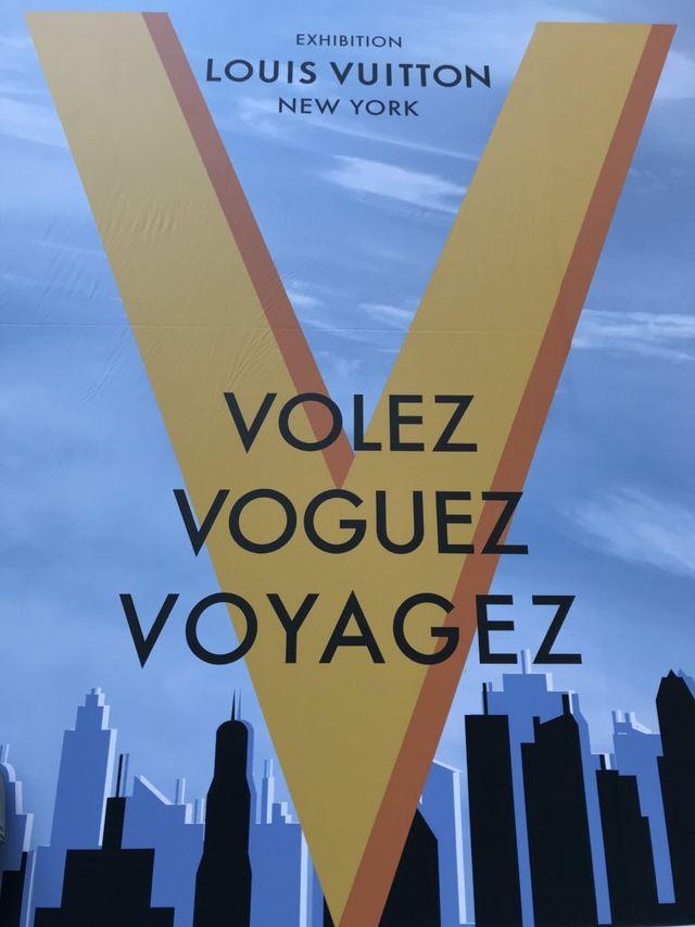 646617f17b1d Louis Vuitton Volez Voguez Voyagez