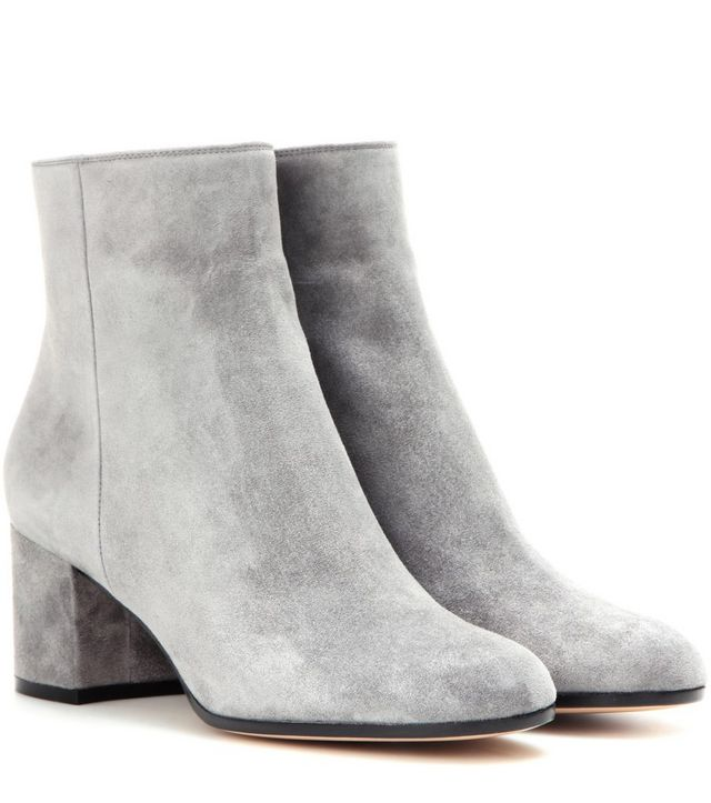 ed9eff6105d These grey Gianvito Rossi Suede Boots are the perfect complement is any  grey outfit.