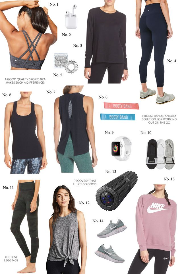 36c03f02f4 1 lululemon Energy Bra    No. 2 AirPods    No. 3 Alo Long Sleeve    No. 4  lululemon Align Leggings    No. 5 Invisible Hair Bands    No.