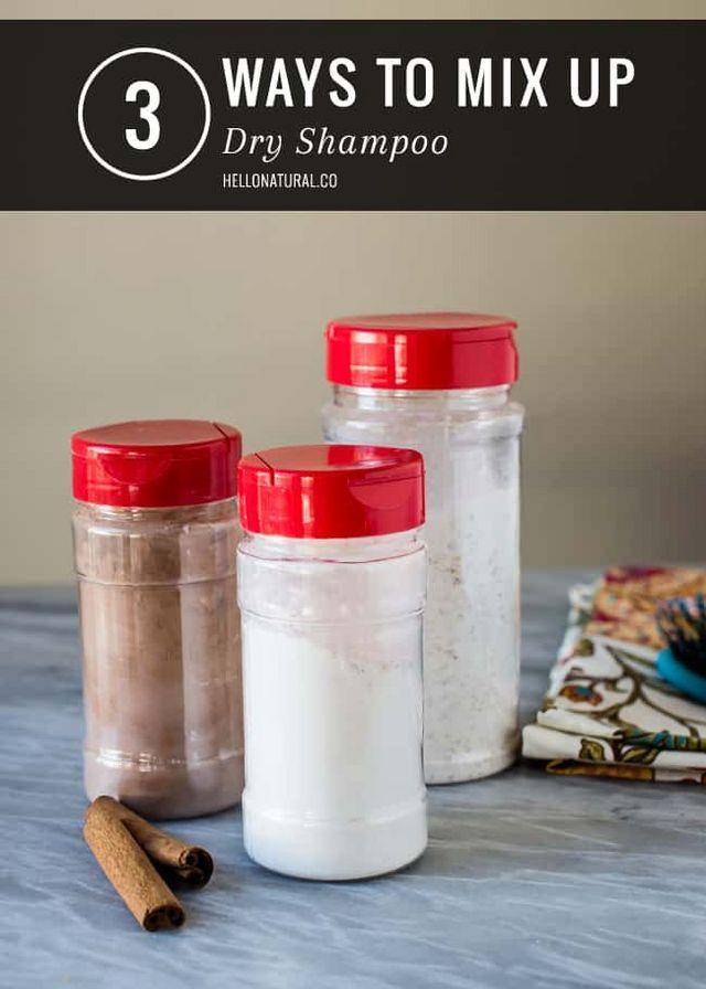 3 Diy Ways To Mix Up Dry Shampoo