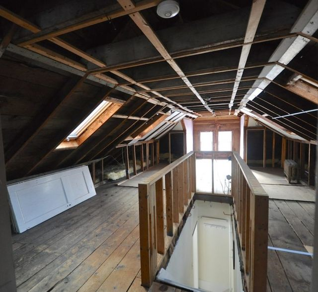 A Bungalow Before & After: Finishing An Attic To Create A