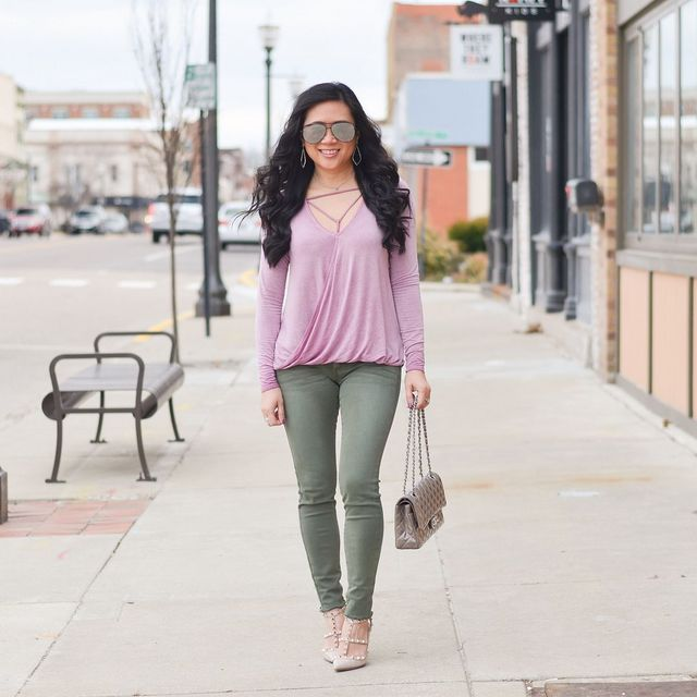 4145508dbc3859 Mauve and olive | More Pieces of Me | Bloglovin'