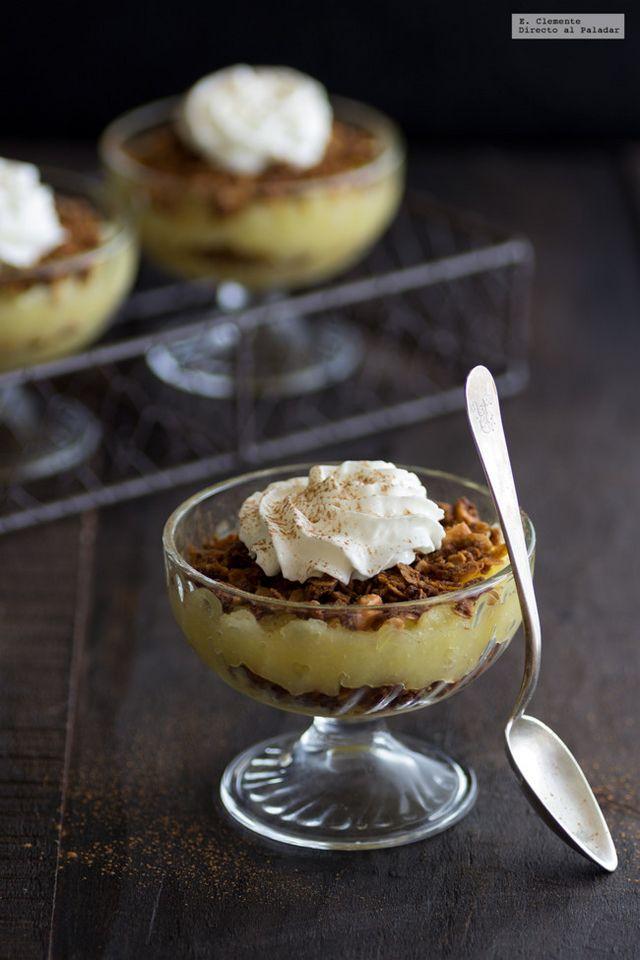 Pudding danés de manzana o Æblekage. Receta fácil de postre para ...