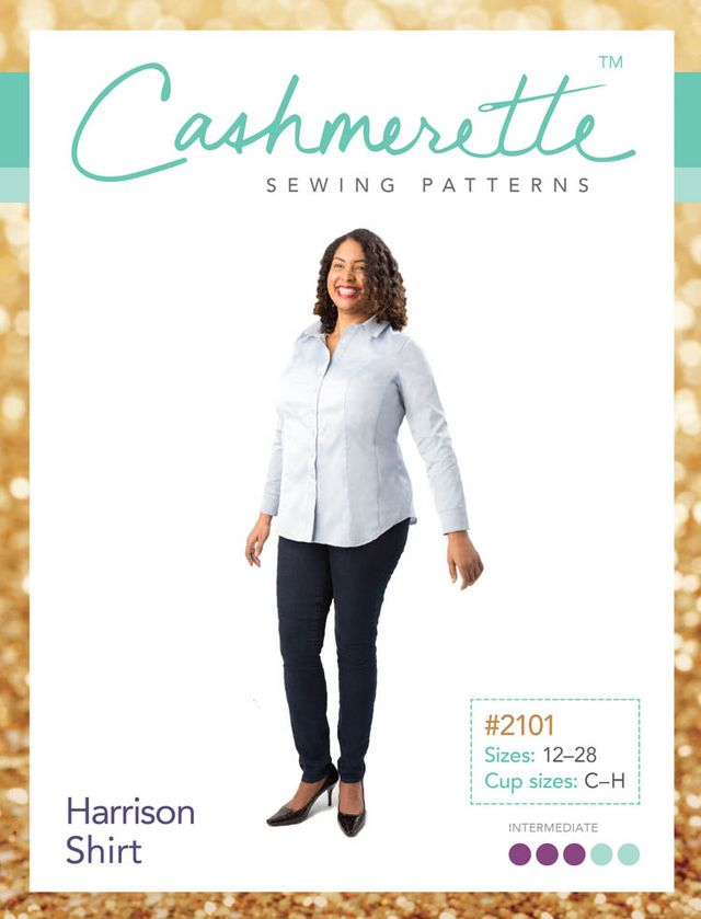 Pattern Review Cashmerette Harrison Shirt Curvy Sewing Collective
