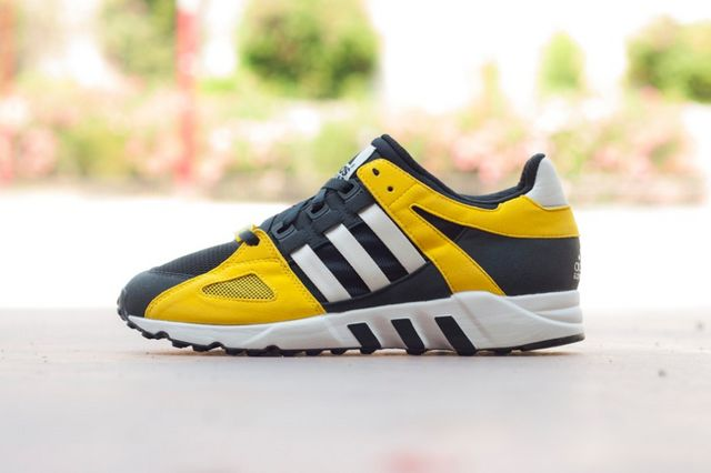 brand new 3d340 52d51 Adding to its EQT lineup, adidas Originals has rereleased the adidas  Originals EQT Guidance 93 in a bold mix of black and yellow.