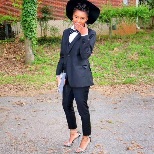7 Black Girls Who Wore Suits to Prom and SLAYED   Black Girl with ...