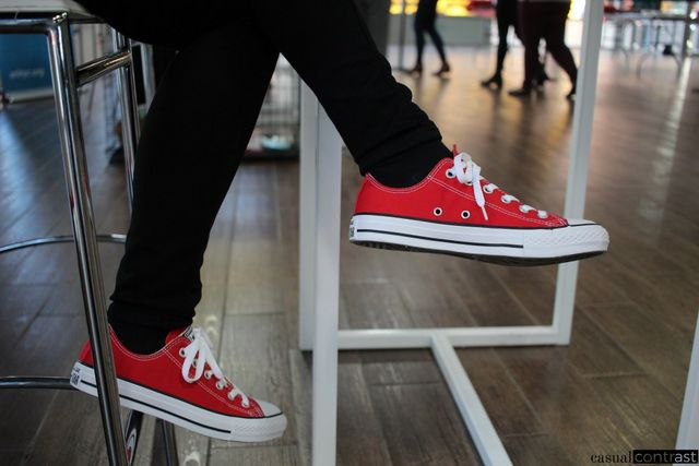 d670e486898d All Purina employees wore red Converse at the Summit – I loved that detail!