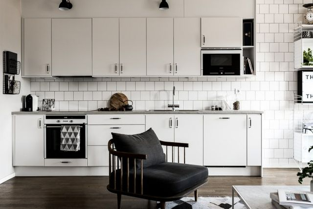 Un Dressing En Noir Et Blanc Planete Deco A Homes World