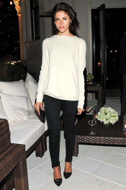 Get Emily Weiss Cozy Chic Date Night Look Le Fashion