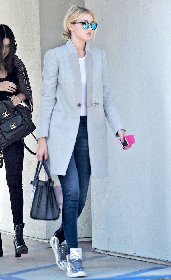 Sac de jour celebrity grey