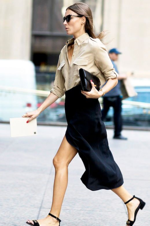 223a12c2985 Steal Giorgia Tordini s Chic Summer Office Look