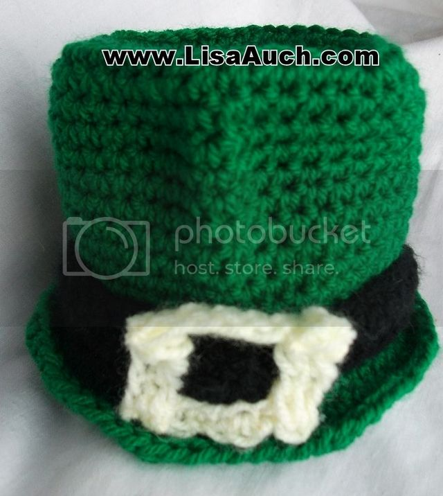 b159aacf058 Free Crochet Pattern St Patricks Day Mini Crochet Leprechaun Hat ...