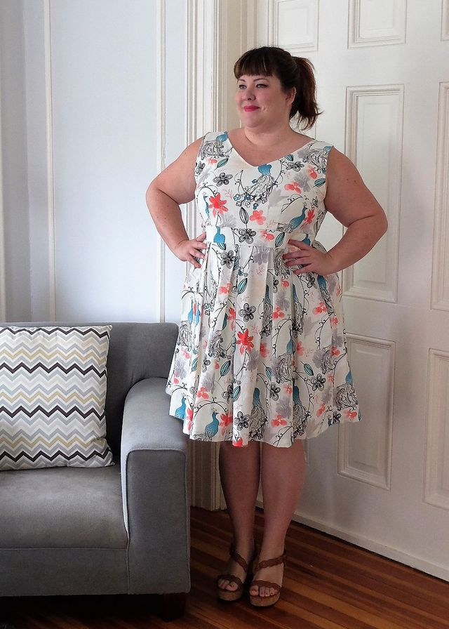 Pattern Review: Cashmerette Upton Dress | Curvy Sewing Collective ...