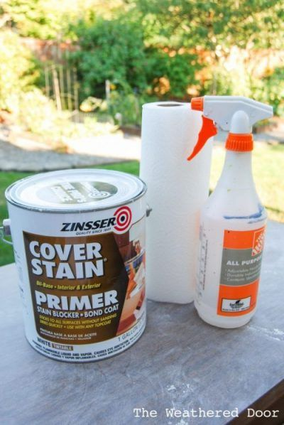 Video How To Paint Over Laminate And Plastic The