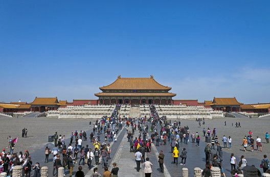 It Was In This Enormous Space That The Emperor Would Hold Audiences While Supplicants Were Required To Show Their Respect By A Ritual Of Kneeling And