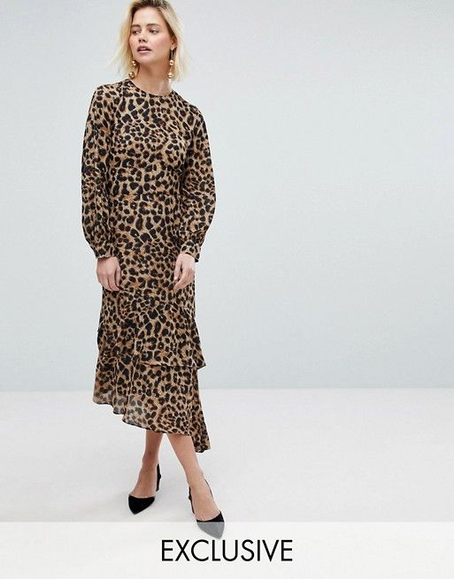 2eef4573054 Alas I don t think I can justify another leopard dress - here I am in mine  from yesterday.