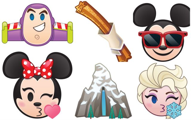 8a21c9f7 Disney's new emojis are out and there's a churro emoji because sometimes  dreams come true