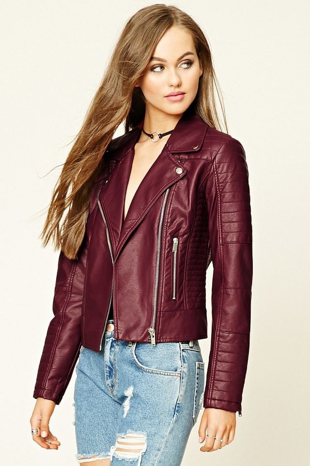 7 fake leather jackets to help you embrace your ~edgiest self~ this