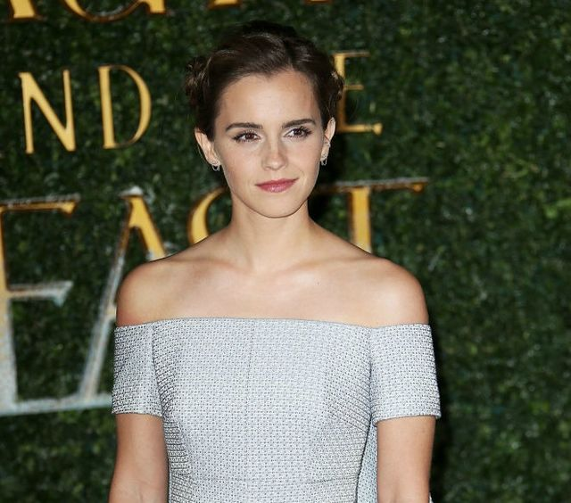 Emma Watson Wore A Rose Braid In Her Hair At Beauty And The Beast Event We Didnt Even Notice