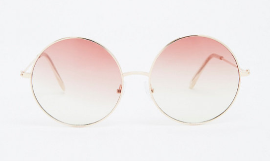 608f47da87 Torrid has a pair of pink ombre sunnies that have that classic round shape.  They re perfect for those who dislike dark lenses and heavy frames.