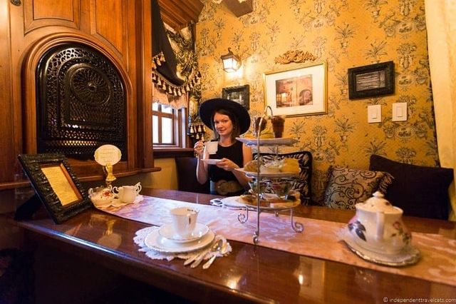 Afternoon Tea in Albuquerque New Mexico at St. James Tearoom ...