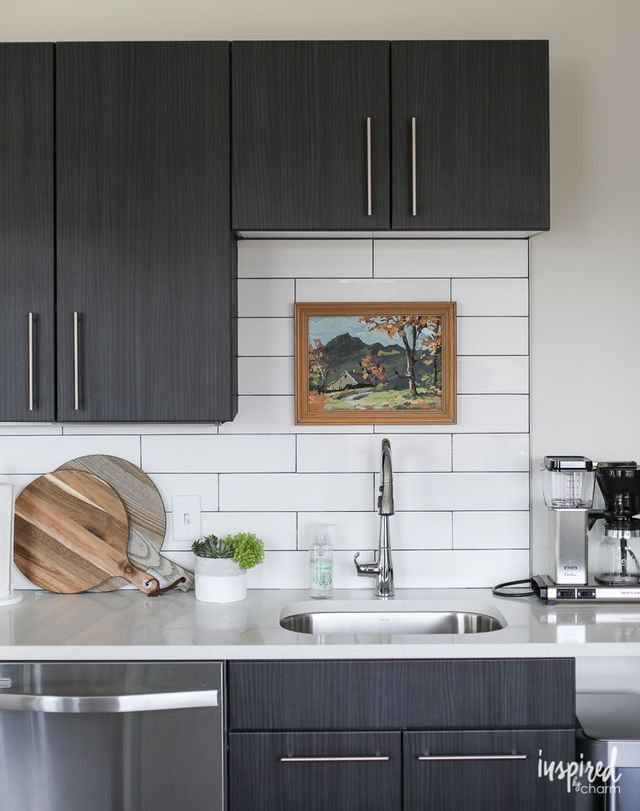 Drab To Fab Apartment Kitchen Decor Inspired By Charm