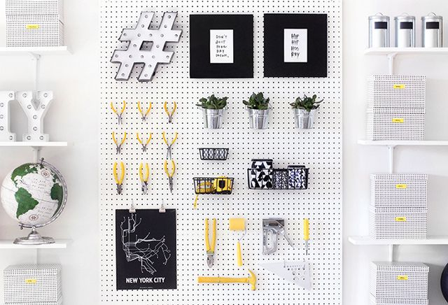 Studio Update Supplies Pegboard I Spy Diy Bloglovin