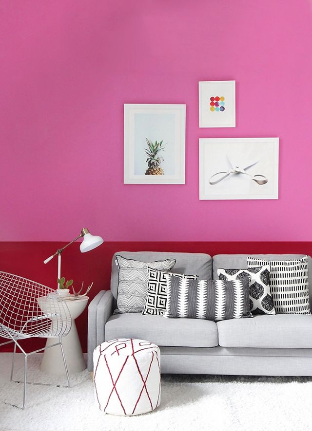 I SPY DIY STUDIO | PINK COLORBLOCK SITTING SPACE | I Spy DIY ...