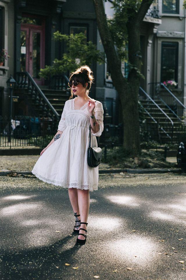 6e47c66f088 White Cotton Lace Dress | keiko lynn | Bloglovin'