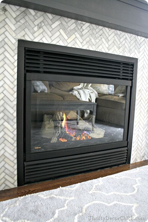cleaning gas fireplace glass thrifty decor chick