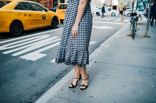 aba657ee7dd5 Wedding Guest Dresses for a Pear Shaped Body  . The post Gingham Dress  appeared first on Lipgloss and Crayons.