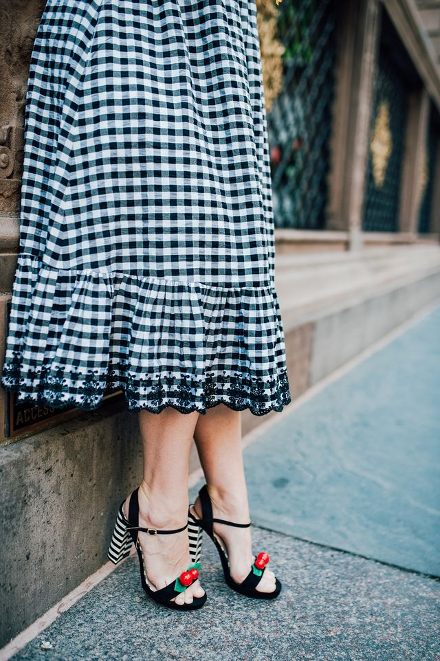 c58652b8f7e1 ... Pear Shaped Body  . The post Gingham Dress appeared first on Lipgloss  and Crayons.