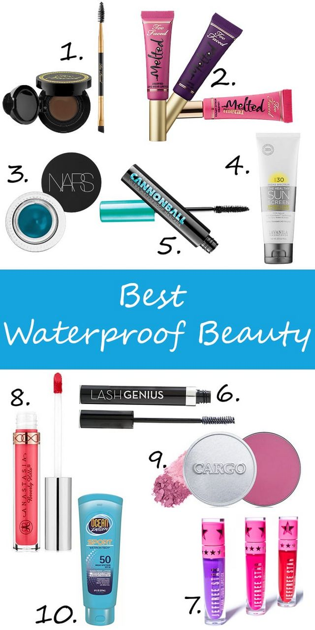 867a22ae479 With oily hooded eyes, waterproof beauty is essential for me! It's also  important if you're going to be around the pool or at the beach. I'm  sharing my top ...