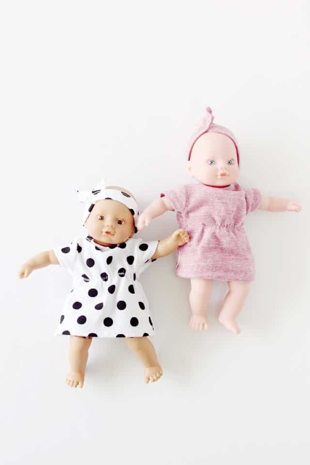 free baby doll dress pattern with matching headband see kate sew bloglovin. Black Bedroom Furniture Sets. Home Design Ideas