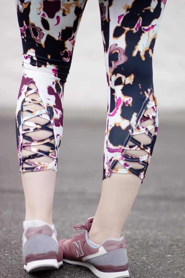 lace up workout pants sewing pattern with WEAVE UP!   see kate sew ...