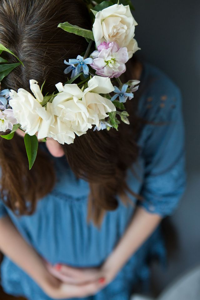 DIY Flower Crown | Sequins & Stripes | Bloglovin\'