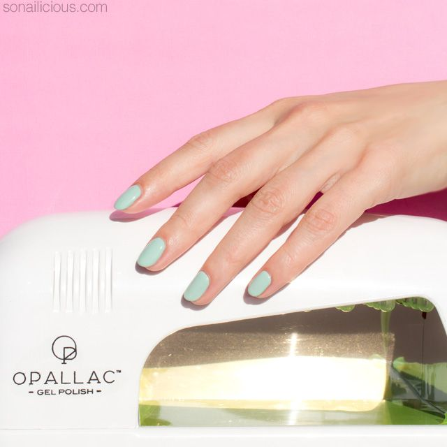 How To Do Gel Nails At Home Like a Pro feat. Opallac Gel Polish ...