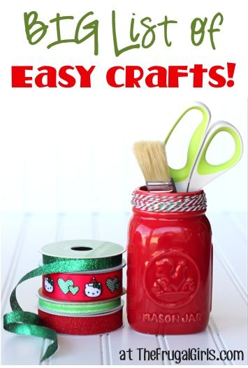 The ultimate list of gifts in a jar the frugal girls for Craft presents for girls