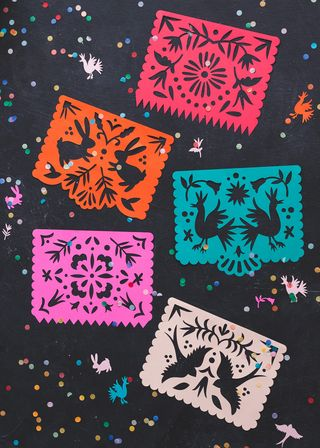 Printable Papel Picado Streamers The House That Lars Built