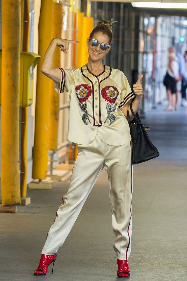 330061dcfd6d Céline Dion Is Out Shopping in Paris Wearing Gucci and She s Pretty Fine  With That