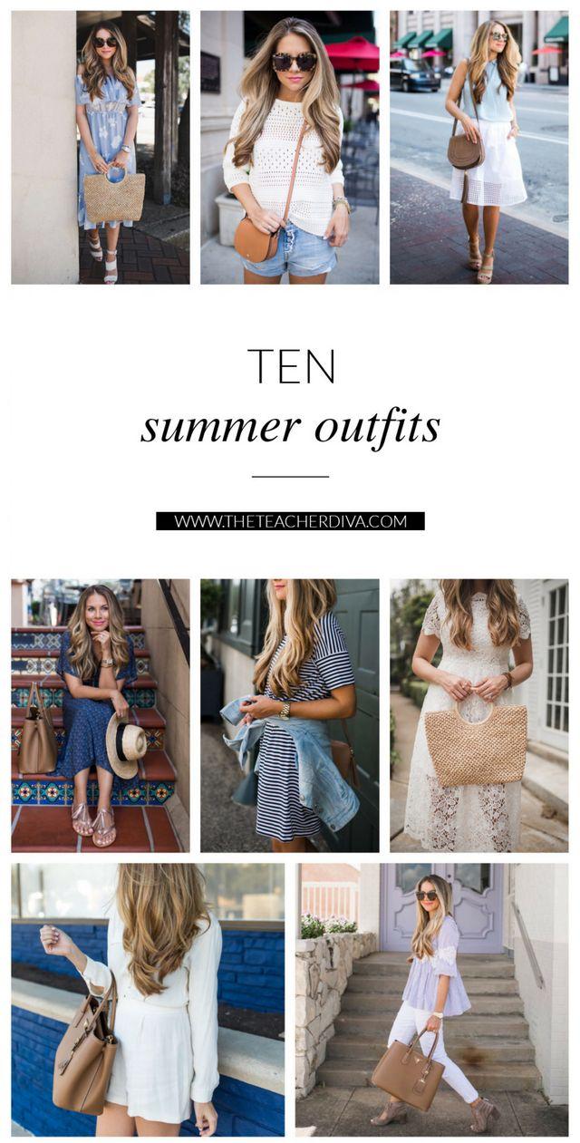 39040423aac2 10 Summer Outfit Ideas | The Teacher Diva | Bloglovin'