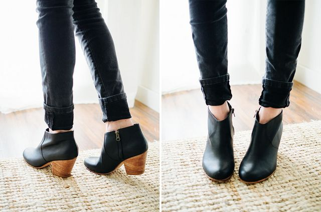 8584ed0099c How to wear ankle booties with jeans  part I  three ideas