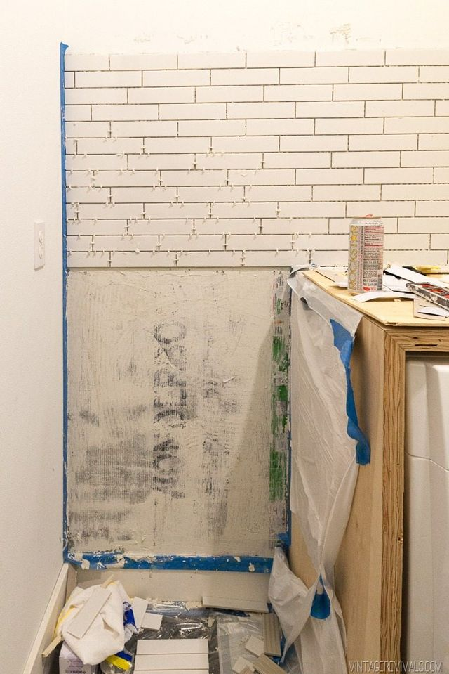 Lessons I Learned While Installing Subway Tile Cause I M